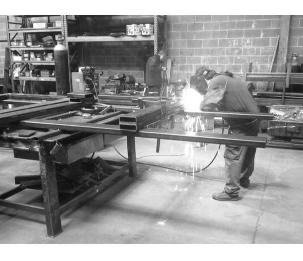 Soldadura Estructura metálica